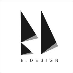 B.DESIGN LOGO